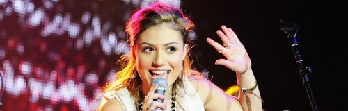 Gabriella Cilmi at Jingle Bell Ball