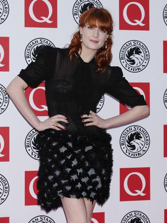 florence welch the q awards 2010