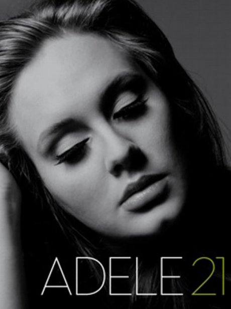 Adele's '21' album cover