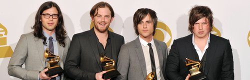kings of leon at the grammies