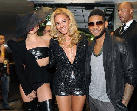 Lady Gaga beyonce and usher