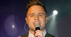 Olly Murs performs live