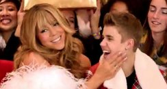 Mariah carey and Justin Bieber