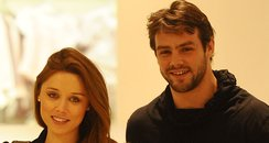 Una Healey and Ben Foden shopping