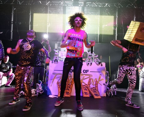 LMFAO on stage