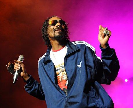 Snoop Dog on stage