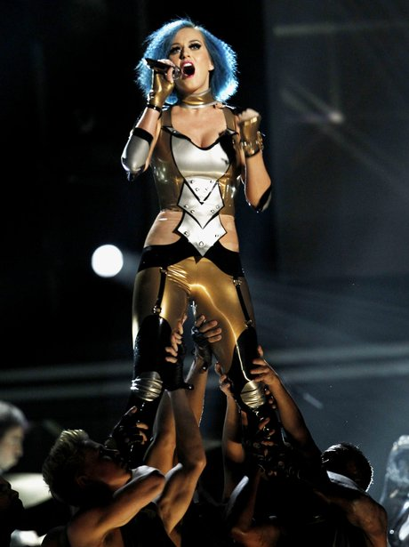 Katy Perry Performs at the 2012 Grammy Awards