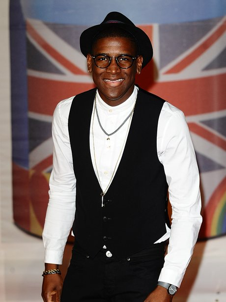 Labrinth arrives at the BRIT Awards 2012