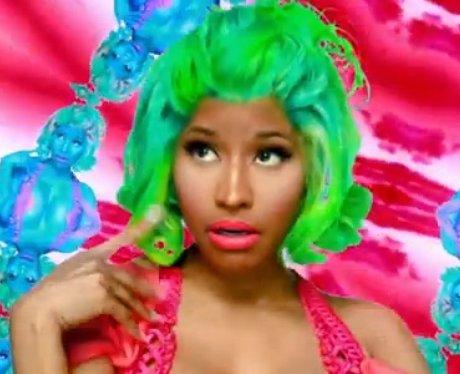 Nicki Minaj in the 'Starships' video