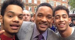 Rizzle Kicks and Will Smith