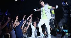 Justin Bieber live on stage at the 2012 Billboard