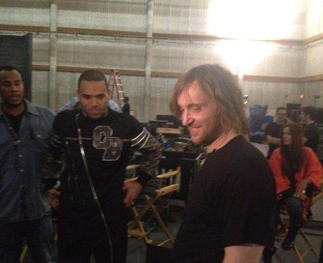 Chris Brown and David Guetta