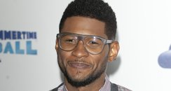 Usher arrives at the Summertime Ball 2012