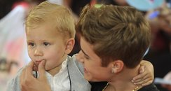 Justin Bieber and younger brother