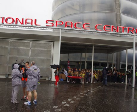 Olympic Torch Relay - National Space Center