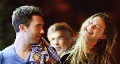 Adam Levine and Girlfriend