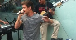 One Direction play surprise gig at Westfield