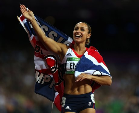 Jessica Ennis Wins Gold At The London 2012 Olympic Games