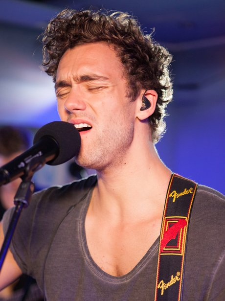Lawson's Andy Brown at Capital FM.