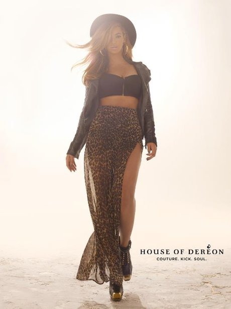 Beyonce unveils House of Dereon fall collection