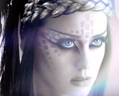 Katy Perry's 'E.T.' music video.