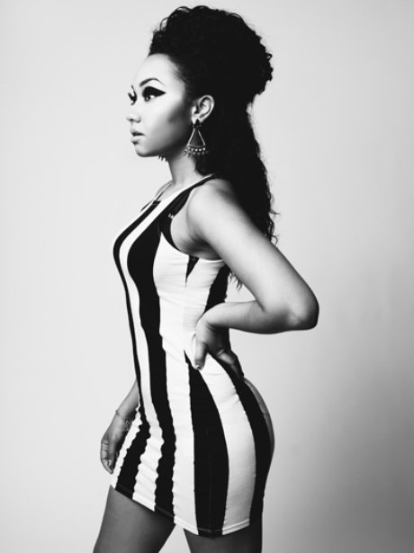 Leigh-Anne Little Mix featuring in Fiasco Magazine