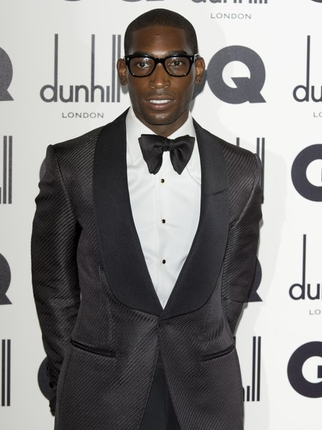 Tinie Tempah andat the GQ men of the year awards