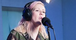 Ellie Gouldings live session for capitalfm