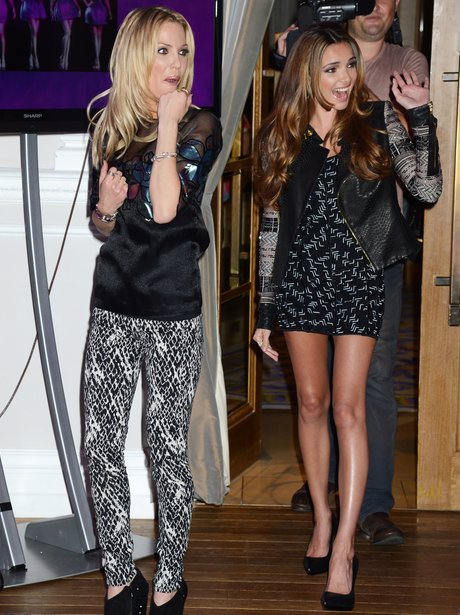 Girls Aloud Press Conference 2012