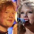 Ed Sheeran and Taylor Swift