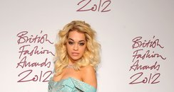 Rita Ora attends the British Fashion Council Award