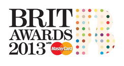 BRIT Awards 2013 Damien Hirst logo