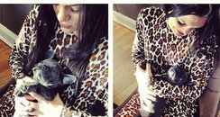 Jessie J With Her Puppy From Twitter