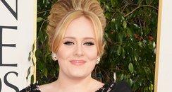 Adele at the Golden Globe Awards 2013