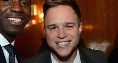 Olly Murs and Fabrice Muamba
