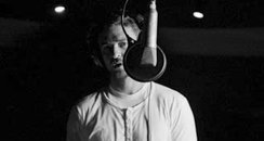 Justin Timberlake in the studio