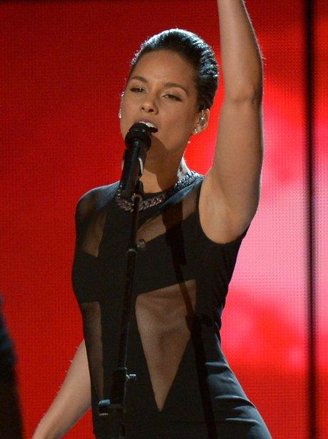 Alicia Keys Grammy Awards 2013
