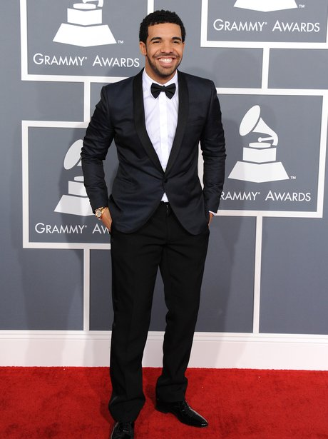 Drake Grammy Awards 2013 Red Carpet Arrivals