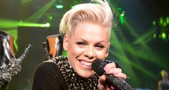 P!nk performs during 'The Truth About Love' tour
