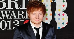 Ed Sheeran 2013 BRIT Awards