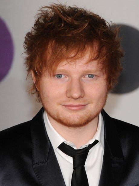 Ed Sheeran at the BRIT Awards 2013