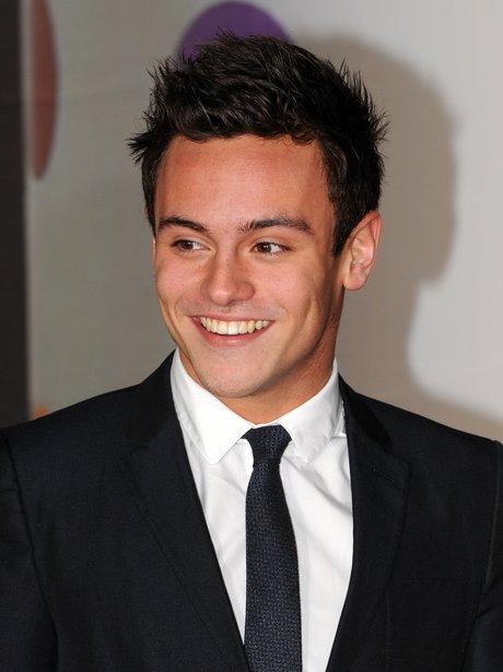 Tom Daley at the BRIT Awards 2013