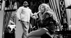 Beyonce tour rehearsals