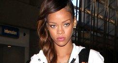 Rihanna wearing a onesie