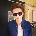 Conor Maynard wearing glasses