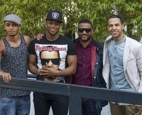 JLS pictured for the first time since split announcement