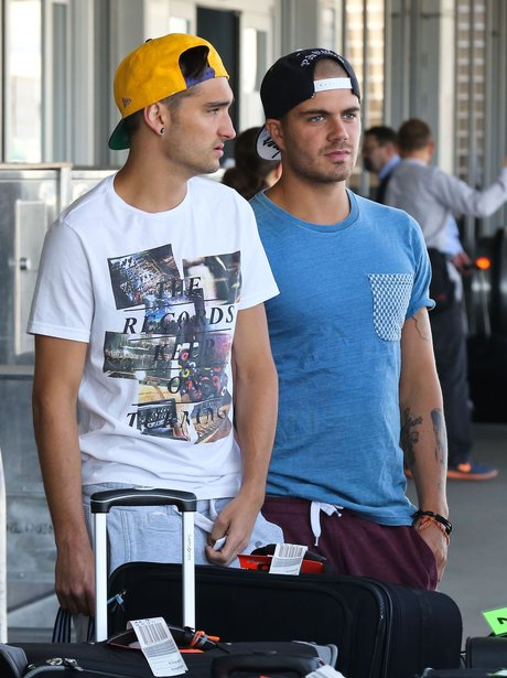 Max George and Tom Parker from The Wanted