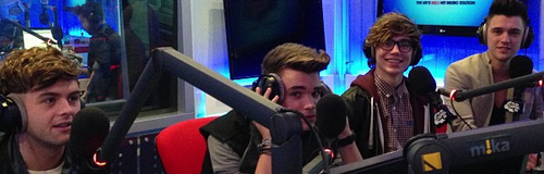 Union J at Capital FM