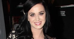Katy Perry poses backstage at broadway