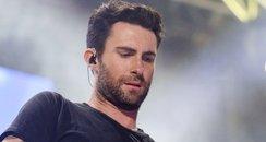 Maroon 5 on stage